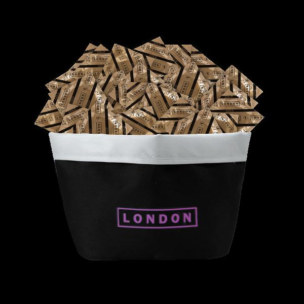 LONDON Promotion Gold Kondome   100 Stück + Beauty Bag