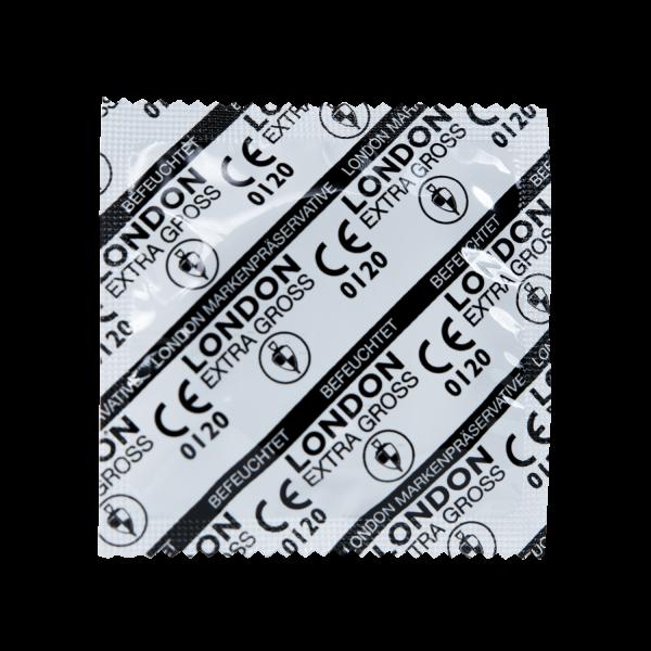 LONDON extra groß XXL-Kondome | 100 Stück